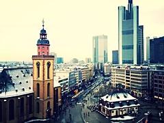 ~ Snowy Frankfurt  (Patriiick_) Tags: schnee snow cool nice snowy frankfurt fresh hype abstrakt bestpic schn