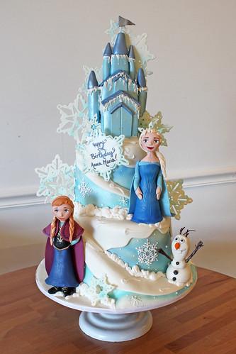 Frozen Cake (Elsa's Castle)