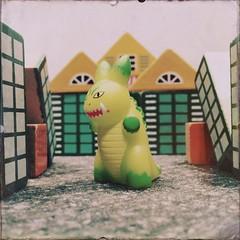Kaiju King (nefasth) Tags: toy kidrobot jouet kaiju smorkin labbit hipstamatic loreofthelabbit