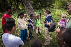 Camp Langano - Ethiopia 2014 Sean Sheridan Photo-79 (SIM USA) Tags: camplangano ethiopia sim sportsfriends people gathering group standing outdoors story storytelling documenting