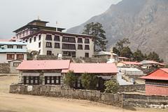 Tengboche monastery (D A Scott) Tags: nepal camp mountains trek lakes everest base himalayas gokyo