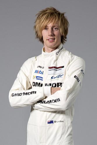 Пилот команды Porsche Racing Брендан Хартли