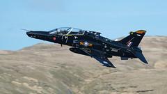 BAe Hawk T.2, ZK022/M, IV(R) Sqn RAF. (PRA Images) Tags: wales hawk bae raf britishaerospace royalairforce machloop lfa7 hawkt2 zk022 ivrsqn zk022m
