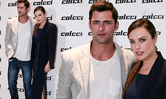 Sean O'Pry and Jessica McNamee (authorname) Tags: blue party brazil brown white black boyfriend leather fashion gold model shoes girlfriend dress jessica gray navy australian posing opry sean jeans farewell dating actress heels week brunette paulo aussie sao blazer tee sparkling maxi mcnamee gisele colcci bundchen
