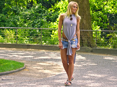 Anothers pose (MySimplePhotosToday) Tags: street city people urban woman berlin girl germany photography candid capital northeastern