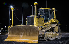 GPS CAT (Western Maryland Photography) Tags: cat construction gap rocky maryland caterpillar gps trimble alleganycounty ef70300mmf456isusm canoneos6d