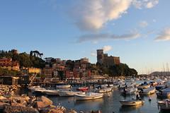 Lerici (Fr.C.) Tags: sea mar nuvole mare centro barche porto cielo colori castello scogli storico lerici castellodilerici cittdilerici