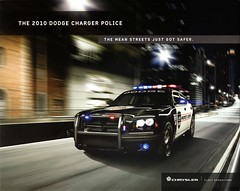 2010 Dodge Charger Police Vehicle (aldenjewell) Tags: police dodge brochure charger 2010