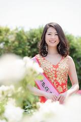 miss universe (it05h1) Tags: flowers roses portrait plants plant flower nature girl rose japan lady garden landscape blossom blossoms vegetation saitama ina miss missuniverse missuniversejapan japanscape it05h1