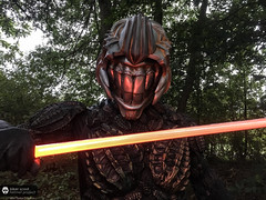 Mouth of Endor (The Clone Emperor) Tags: charity london mouth project star europe thomas helmet scout celebration biker wars maquette endor 2016 spanos bshp