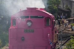 Pink SL at Wakasa Railway (50) (double-h) Tags: sl tottori jnr steamlocomotive c12   eos6d   pinksl wakasarailway  c12 ef100400mmf4556lisiiusm c12167 wakasastation classc12 c12 sl