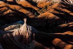 Bryce Canyon Hoodoo (jpaulus) Tags: park sunset white rock sandstone desert dunes pillar canyon pole national bryce brycecanyonnationalpark
