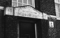 Old Tobacco Warehouse (bclook) Tags: bw film analog noiretblanc d76 ilfordhp5 schwarzweiss selfprocessed leicam6 filmisnotdead summicron502 istillshootfilm bwfp