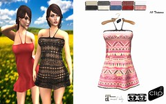 Dress Melissa CLIP (alicemaryy) Tags: life fashion shop store quality clip clothes sl second hud