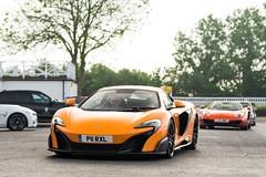 Brothers (Callum Bough) Tags: auto road street orange cars car volcano nikon automobile automotive mclaren d750 parked autos carbon supercar v8 goodwood supercars 12c mp412c 675lt