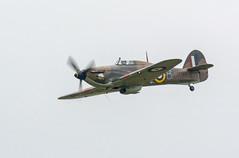 The Hawker Hurricane Mk.IIc (David Feuerhelm) Tags: hurricane nikkor historic vinatge plane airshow nikon d7100 duxford cambridgeshire england fighter