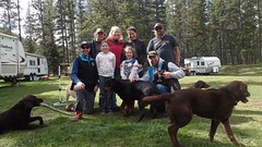 Fun Times (Oldman Watershed) Tags: dutch creek 2016 backcountry outreach assistants engaging recreationists ohv surveys camping dutchcreek