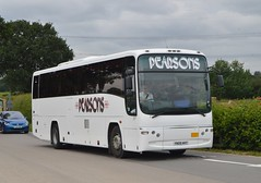YN05 HVT: Pearson, Aldbrough (chucklebuster) Tags: yn05hvt bsk790 pearsons tm travel moffat williamson volvo b12m plaxton paragon