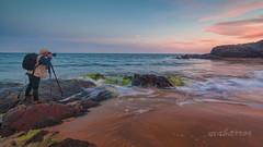 IMG_0106-5-mabarror-2 (mabarror) Tags: atardecer playa colores murcia verdes rocas azules rojos parquenatural calblanque mabarror manuelbarragnrodrguez