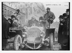 1908. New York - Paris race. Germans in Protos car, New York (foot-passenger) Tags: 1908 newyorkparis race greatrace       libraryofcongress loc protos