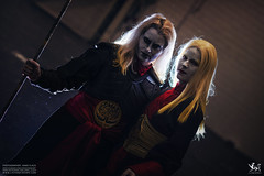 DSCF6700 - EDIT (Cat&Crown) Tags: london expo cosplay dante naruto comicon excel scythe mcm akatsuki cetre hidan