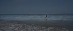 Calypso and the ocean (InByTheEye) Tags: calypso ocean water sea waves horizon blue wading myth sony photoshop