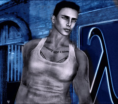The Lambda: A Symbol of Liberation (Rob Goldstein-Working) Tags: sanfrancisco family portrait stone wow stand wordpress avatar pride blogger secondlife gaypride pulse sly glbtq gayliberation lblogger artbyrobgoldstein