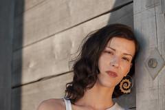 Faye (David Wint) Tags: uk england people female kent model whitstable faye whitstableharbour