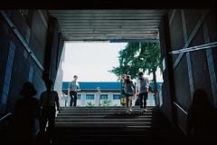 ... (june1777) Tags: street light shadow station subway kodak iii snap seoul fujifilm 69 690 90mm gw portra fujinon 160 f35 gw690 anguk gw690iii