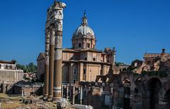Il Foro Romano (giumichi) Tags: rome ruins foro romano