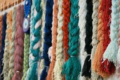 Yarn (sydneykmking) Tags: abstract texture love colors beautiful turkey yarn multicolored rugs turkish rugstore turkei