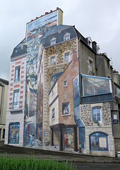 Fougres (50) (Silvia Inacio) Tags: fougres bretagne bretanha brittany france frana painting streetart