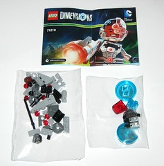 71210 1 lego dimensions cyborg wave 1 fun pack 2015 l loose complete bagged (tjparkside) Tags: 2 3 stone comics fun one 1 robot justice dc lego guard wave sonic victor part pack walker cannon laser vic shooting cyborg stud league cyber mech dimensions manmachine wrecker 2015 71210 cyberwrecker