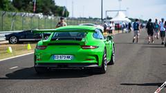 Porsche 911 GT3 RS (m.grabovski) Tags: porsche 911 991 gt3 rs green circuit de la sarthe lemans classic 2016 france mgrabovski