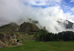 Glimpse of Sun & Fast Moving Clouds - IMG_3799 (Toby Garden) Tags: machu picchu ruins peru mysterious cloudy day