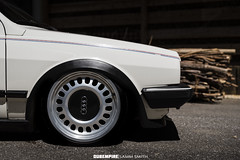 f21134144 (Sammjoey Photography) Tags: vw volkswagen polo mk2 bagged low lowered stance fitment tuck audi a8 winters airlift suspension v2 worthersee treffen 2016