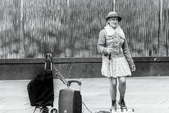 Opera time (tonyg1494) Tags: monochrome bw streetphotography operatime singer sydney martinplace