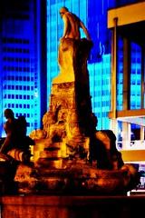Willy-Brandt-Platz (patricklange) Tags: frankfurt ffm luminale 2016 light art kunst licht lichtkunst