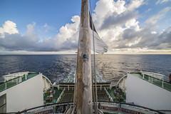 To the horizon we go.... (Naomi Roe) Tags: tallinksiljaline ferry helsinki finland suomi tallinn estonia balticstates balticsea boat ship sea horizon sail clouds sticker