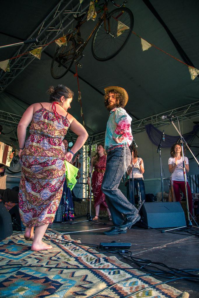 Ethno dancing