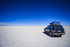 Salar de Uyuni (Johnson Barros) Tags: carro ferias landcruiser salardeuyuni saltflats toyota travel trip vacations viagem potosidepartment bolivia bo