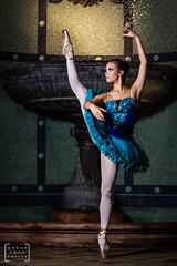 balet dancer in the heart of Budapest #1 (gab.imre) Tags: hungarian girl blue flash art night balet dancer nightshot budapest downtown