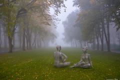 Misty morning-8.jpg (Elen_L) Tags: 2016 kharkov park september ukraine autumn beauty city fog landscape morning nature naturewakesup