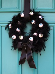 Eyeball Wreath (AllHalloweener) Tags: halloween halloween2016 halloweenfun halloweeniscoming diyprojects halloweendecorations halloweenfacts halloweenholiday darkness evil fear candies party halloweenparty sayingsabouthalloween halloween31oct halloweencelebrations halloweenisfun halloweenvisits travel places recipes halloweenpranks halloweencostumes halloweenmakeup halloweenstories halloweenartists halloweenalbums halloweendiy halloweenexteriordecoration