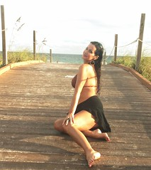 WELCOME TO DESTIN (House Of Angelica OVER 21 MILLION VIEWS~THANK YOU!) Tags: darkhairedbeauty exoticbeauty swimwear ocean beautifulfaces beautifulbackdrops bikinimodel higharches feet legs eyes