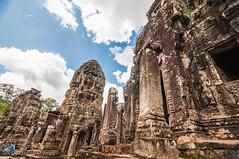 Bayon Temple, Cambodia (Gabriela Nakayoshi) Tags: bayon cambodia siemreap camboya asia templecambodia d90 nikon temple tokinaatx116prodxii1116mmf28