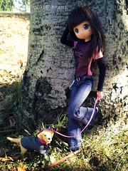 Strike a pose ! (Brani's fashion dolls) Tags: animedolls big eyes japanese dolls modori princess ori articulated livdolls