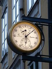 Chronoswiss Clock Sign in the Old Town of Salzburg Austria (Arjan Richter) Tags: chronoswiss clocksign timepiece clock uhr klok reloj orologio horloge  salzburg austria