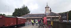 Flying Scotsman's visit to Rawtenstall Railway Station ELR (mrrobertwade (wadey)) Tags: nigel gresley eastlancashirerailway 4472 rossendale robertwade lancashire wadeyphotos