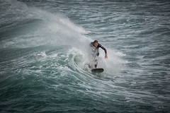 Surfer (Infinicolors) Tags: la torche plomeur bretagne france vagues waves surf sea ocean fr beach mer seaside eau vague wave ocan sport mar seascape